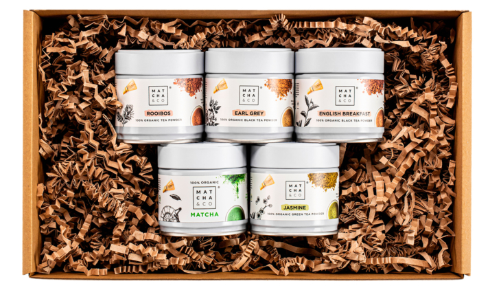 Pack 5 variétés de thé 1
